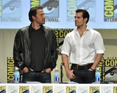 When he stood next to Ben Affleck at Comic Con and all we could do was compare jawlines (sorry, Ben Affleck).   19 Times Henry Cavill's Jawline Was Out Of Control