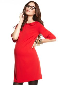 More Of Me - Florence Dress in Red  Queen Bee Maternity