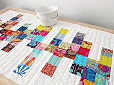 Image result for Modern Quilted Table Runners