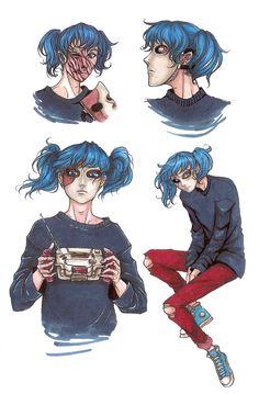 ¡¡Imágenes, datos y teorías de Sally face! Las imágenes no me perte… # Ngẫu nhiên # amreading # books # wattpad Fisher, Sally Man, Sally Face Game, Overwatch, Rpg Horror Games, Dibujos Cute, Arte Horror, Samurai, Face Art