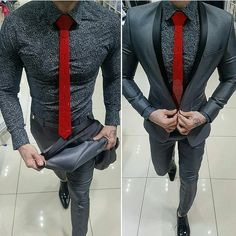 men suits prom -- Click Visit link above for more options Mens Fashion Suits, Mens Suits, Terno Slim Fit, Style Hipster, Casual Outfits, Men Casual, Look Man, Herren Outfit, Mens Style Guide