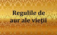 Regulile de aur ale vieții - păstrați-le! - Fasingur Aur, Movie Posters, Film Poster, Film Posters, Poster