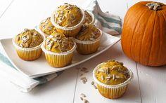 Muffin alla zucca con cuore di gorgonzola