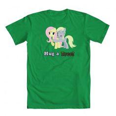 Go green and hug a tree :3