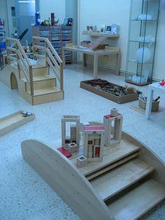 Labtx by hazitegi, via Flickr Montessori Room, Montessori Toddler, Toddler Play, Daycare Rooms, Home Daycare, Home Learning, Learning Spaces, Learning Environments, Kids Indoor Playground