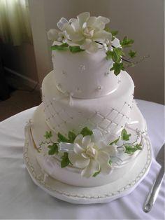 Gardenia cake!