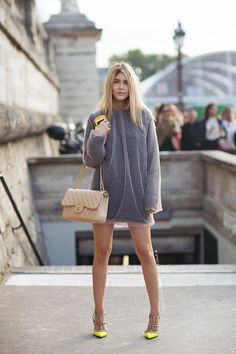 Tell me about your outfit, what you are wearing? - Im wearing sweater from MSGM, shoes from...