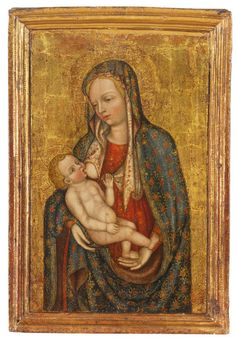 Bigli Art Broker - attribuito a Zanino di Pietro (venduto) - Madonna del latte