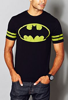 Striped Batman™ Tee | FOREVER21