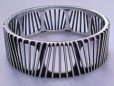Bracelet | Bent Knudsen. Sterling silver. Denmark, ca. 1960.