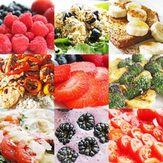 Eat clean, healthy and beautiful food; feel clean, healthy and beautiful too.