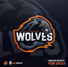 Wolves Mascot for Sale! - Gabe on Behance