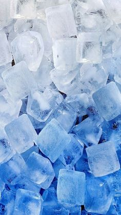Imagen de ice, blue, and wallpaper