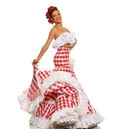 Giselle Lacouture: Fotos de la nueva novia de Carles Puyol - Giselle Lacouture: Posa con traje colombiano Carmen Miranda, Frou Frou, Fantasy Costumes, Festival Looks, Stylish Dresses, Fishtail, Traditional Dresses, Playing Dress Up, Pin Up