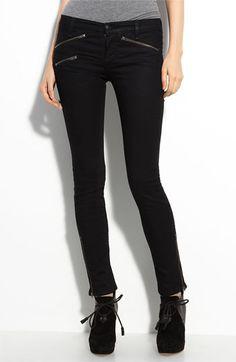 rag & bone/JEAN Zip Pocket Skinny Stretch Jeans