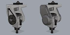 5 Axis Router B/C Head Design