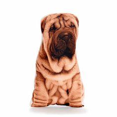 Chinese Shar Pei Pillows - By Cushion Co WORLDWIDE SHIPPING: Chinese Shar Pei, Shar Pei Pillow, Shar Pei Cushion, Dog Lover Gift, Dog Pillows, Dog Print, Animal Home Decor, Children's Decor, Boys Room,  Dogs funny, Dog treats