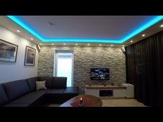 Steinwand beleuchten und Decke abhängen, Tipps und Tricks - YouTube