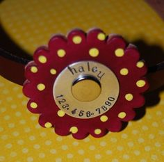 Our fave dog collars - totally customizable!