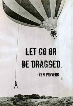 I refuse to be dragged through this all over again. Time I let go and let GOD