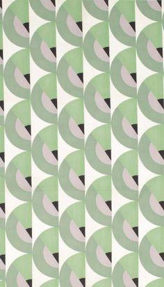 Art Deco Textiles | LACMA. #Green #Print #AfricanPrints #Textile #Fashion #Design #AfricanFashion @ethicalfashion1