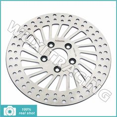 "72.78$  Watch now - http://alijo7.worldwells.pw/go.php?t=32627672059 - ""11.5"""" Rear Brake Disc Rotor for Sportster 1200 883 XLH Dyna 1340 FXDB FXLR Low Rider Custom FLST 1340 Heritage Softail FXSTC"" 72.78$"