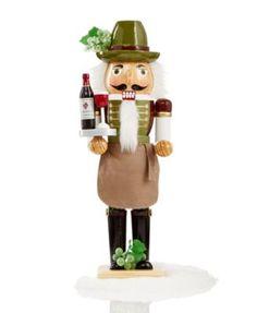 "NUTCRACKER~Holiday Lane 14"" Wine Sommelier Nutcracker, Only at Macy's"