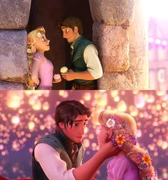 Day 29 - Favorite Overall Moment - Tangled kingdom dance and lanterns. Disney Rapunzel, Tangled Rapunzel, Princess Rapunzel, Tangled Sun, Disney Princess, Mermaid Disney, Walt Disney Co, Disney Day, Tangled