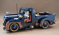 Bricklink is the world's largest online marketplace to buy and sell LEGO parts, Minifigs and sets, both new or used. Search the complete LEGO catalog & Create your own Bricklink store. Pick Up, Lego Wheels, Lego Projects, Upcycling Projects, Lego Plane, Lego Moc, Lego Lego, Lego Fire, Lego Truck