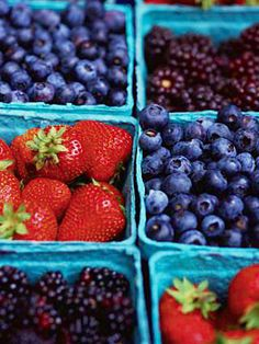 Love berries and they are lower in natural sugar than grapes my dietitian told me! Strawberries are my favorite!