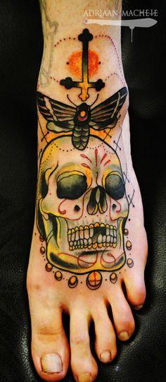 Adriaan Machete - Tattoos