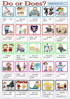 English ESL worksheets, activities for distance learning and physical classrooms English Grammar Worksheets, English Verbs, Kids English, English Lessons, Learn English, English Language, English Lesson Plans, French Lessons, Spanish Lessons