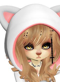 #imvu #chibi #catGirl #nekomimi #furry || my Photostream http://it.imvu.com/members/Guest_LusilleNyuigot