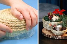 Decorate Like Crate & Barrel On A Budget With These Beautiful Twine Bowls