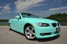 tiffany blue bmw | 2010 BMW 328i Convertible - 1 of a Kind Tiffany Blue Convertible ...