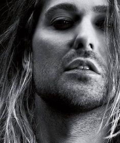 David Garrett closeup.