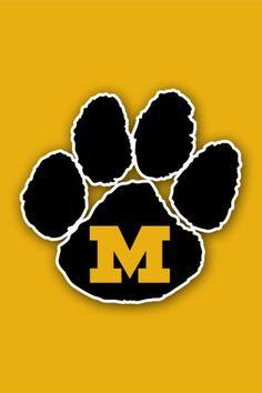 Missouri Tigers Tiger Cookies, Fight Tiger, Tiger Paw, Tiger Logo, Cotton Bowl, Follow The Leader, Missouri Tigers, Football Boys, Sports Wallpapers