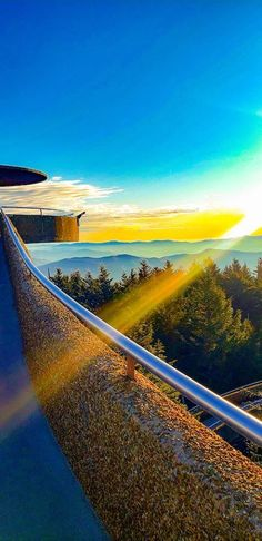 Clingmans Dome is actually the highest place in the Great Smoky Mountains at feet, which is why it has one of the best views available Go Vols, Great Smoky Mountains, Nice View, Tennessee, Golf Courses, Sunrise, Places, Sunrise Photography, Sunrises