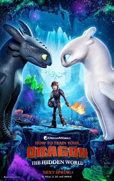 Universal has released the first How to Train Your Dragon 3 poster; How to Train Your Dragon: The Hidden World features the voice of Jay Baruchel. Movies 2019, Hd Movies, Movies To Watch, Movies Online, Movie Tv, Movies Free, Action Movies, Disney Movies On Dvd, Movies Point