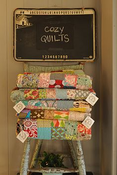 cozy quilts collected here..