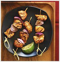 Chili Chicken Kabobs