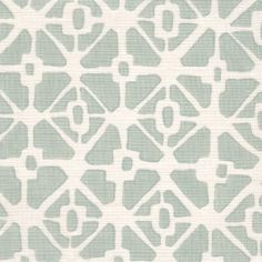Trellis Mineral on White Linen - Galbraith & Paul