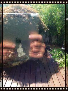 #synchroonkijken Dag7: the final...: self reflection  In deze afbeelding komen voor mij een aantal mooie ervaringen van de afgelopen week samen: alleen met iPad gefotografeerd, geexperimenteerd met tal van foto-apps, een aantal beelden van deze week ineen,... Zelf reflectie....