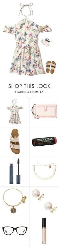 """""""Church OOTD"""" by bowbeauty01 ❤ liked on Polyvore featuring Hollister Co., Kate Spade, Birkenstock, Burt's Bees, Almay, Pura Vida, Alex and Ani, Ralph Lauren, Too Faced Cosmetics and bowbeautiful"""