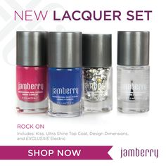NEW ROCK ON lacquer set  get yours today!