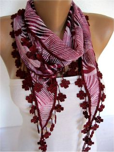 ON SALE  Zebra Scarf Cotton Scarf Gift Scarves Scarf by SmyrnaShop, $9.90
