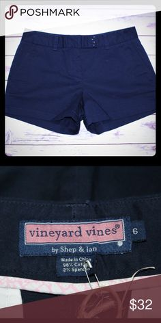 "Vineyard Vines Shorts Excellent condition 98% cotton , 2% spandex Approximately 11.5"" in length - price firm, buy for $26 on www.chicboutiqueconsignments.com! Vineyard Vines Shorts"