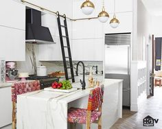 Pin for Later: 5 Daring Design Ideas From This HGTV Star's Home Add a Library Ladder