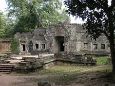 Preah Khan in Angkor, Siem Reap Cambodia  Date: 1191 AD, Reign: Jayavarman VII, Religion: Buddhist  Read more: http://www.globaltravelmate.com/asia/cambodia/angkor/angkor-temples/563-siem-reap-preah-khan.html#ixzz2Xb9npD00