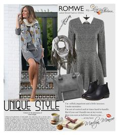 """""""Romwe 10/VI"""" by merima-p ❤ liked on Polyvore featuring Mackage"""